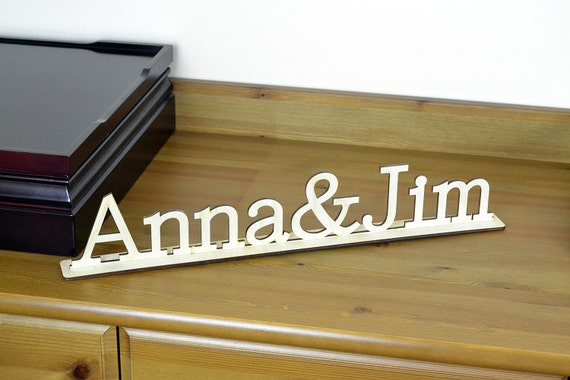 Custom Wood Word Sign Freestanding Home Decor Housewarewes