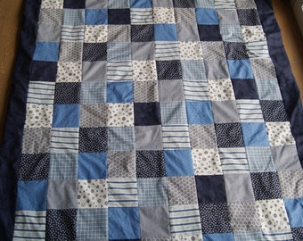 Quilt blanket | Patchwork blanket