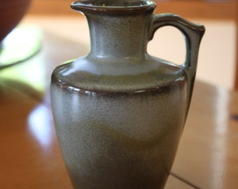 Vintage Small Vase, Water Pitcher, Pottery