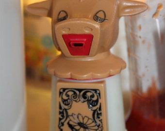 Vintage Whirley Industries Moo Cow Creamer