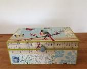 Handmade Tea Box - size 23x14x9cm