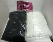 """50 FDA and  USDA Compliant 9x12 Clear Poly T - Shirt Plastic Bags w/ 2"""" Flap, Transparent Apparal Bags, Clear Flatware bags, Product bags"""