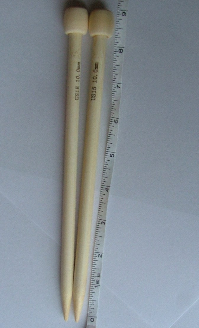 Knitting Needles Mm Vs Us : Bamboo knitting needles mm short
