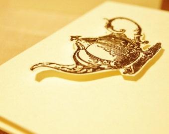 Note Cards Teapot Set