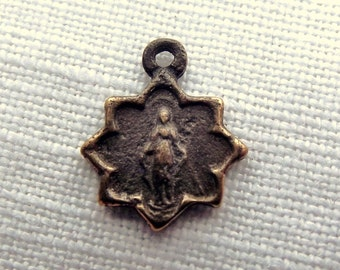 Bronze Tiny Miraculous Medal