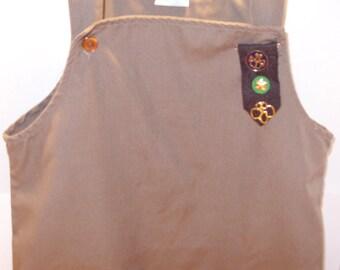 Brownie Girl Scout Uniform Dress/ Jumper Size 6