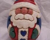 Folk Art Santa