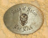 RESERVED / Sons of Satan Car Club Belt Buckle Very Rare
