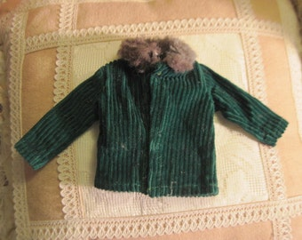 FREE USA SHIPPING / Barbie Coat with fur collar