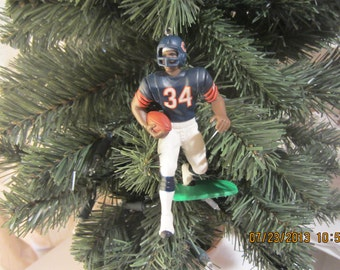 Walter Payton Chicago Bears custom football sports ornament many to choose from
