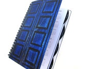 River Song 2016 2017 Daily Planner Dr. Who Tardis UpCycled Academic Student Agenda The Doctor Diary