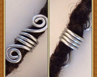 Silver  Dreadlock Bead Accessories