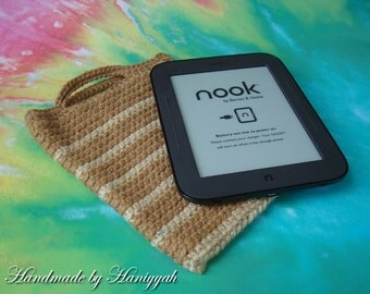 Kindle Cover or Nook Simple Touch Cover - Case - bag - handmade - crochet