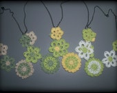 RESERVED LISTING 2x Floral Necklaces