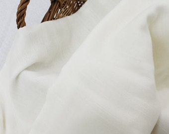 Ivory Cotton Gauze - Triple Layered - By the Yard 38785 - 250