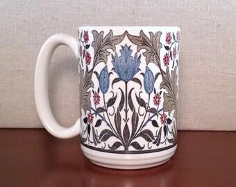 William Morris Arts and Craft Tulip Design 15 ounce American-made Mug