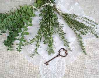 Set of 3 Organic Herb Bundles: Oregano, Rosemary & Thyme