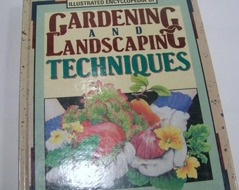 Vintage Rodales Gardening and Landscaping Illustrated Encyclopedia