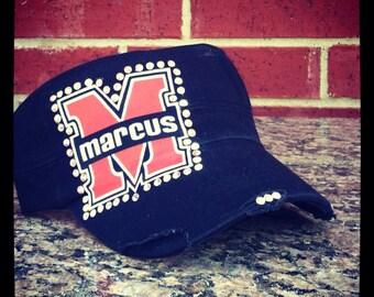 SWAROVSKI Stunning Flower Mound Marcus Marauders Cadet Style Hat