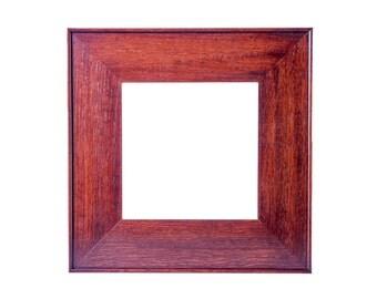 Mission 8x8 Craftsman Frame - quarter sawn fumed white Oak