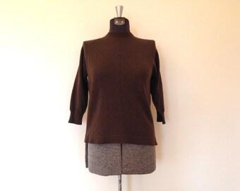 Vintage Sweater / Small/Med /  Winklemans Knit