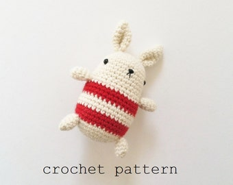 Crochet Pattern - Little Bun (Amigurmi Rabbit)