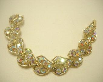 AURORA BOREALIS RHINESTONE Bracelet (1610) Gorgeous!!