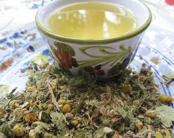 GOURMET TEA BLEND Sampler  - organic, hand blended,  artisan  -