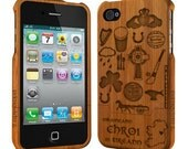 Wood iPhone case, Bamboo iPhone 4 / 4S Case, iphone case, iphone cover