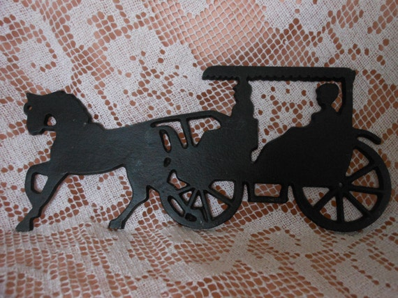 Draft Work Horse Driving Pulling Buggy Wall Plaque | eBay |Metal Horse And Buggy Silhouette