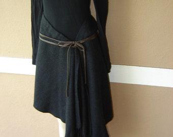 Donna Karen Vintage Wool Boho Skirt