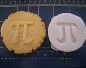 PI COOKIE STAMP recipe and instructions - make your own geeky cookies