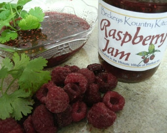 Jam. Raspberry.Homemade Raspberry Jam, Handcrafted,Deliciously Sweet, jam & jelly. Raspberry Jam