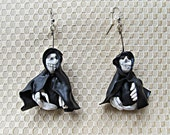 Reserved for Marion Skeleton Grim Reaper Earrings
