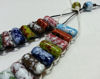 Peruvian Glass Bead Abacus Knitting Row Counter, Golf Stroke Counter, Lap Counter, Ranger Beads, Water Tracker, Prayer Beads