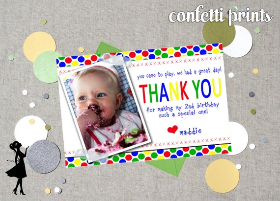 SESAME STREET Thank You Card / Photo Card Printable