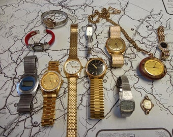 Vintage Watch Lot of 12