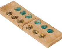 Personalized Mancala Set (Includes Marbles)