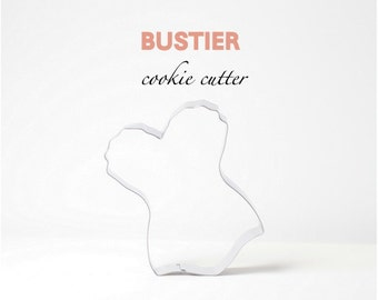 Bustier Corset Lingerie Cookie Cutter, Wedding, Party, Custom Cookies