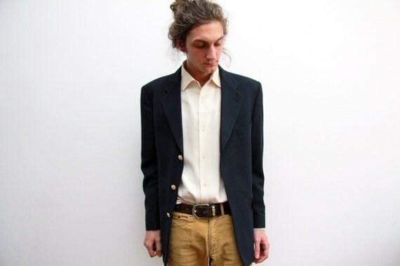 1960s Yves Saint Laurent Blazer Jacket - Made In France