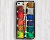 Watercolor Set IPHONE CASE, iPhone 6s case, iPhone 6 case, iPhone 6S Plus, iPhone 5S case, iPhone 5C case, iPhone 4S cases