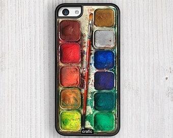 Watercolor Set IPHONE CASE, iPhone 6s case, iPhone 6 case, iPhone 6S Plus, iPhone 5S case, iPhone 5C case, iPhone 4S cases