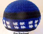 Time Traveller, Dr Who, Tardis inspired adult beanie