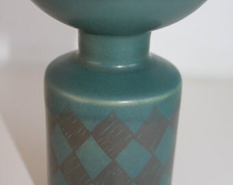Totally retro candle holder by Arabia Finland