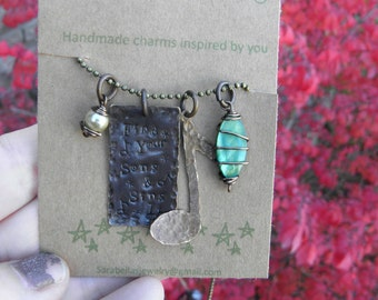 Find your song and sing it Necklace
