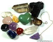 Crystal Healer Tool Kit With Pouch