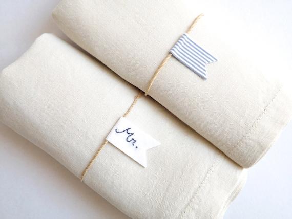 Items similar to nautical wedding table settings set of - Coastal napkin holder ...