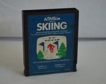 Atari 2600 Video Game: Skiing