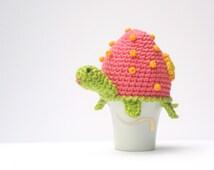 Crochet Turtle Egg Cozy Pattern, PDF, Instant Download, Crochet Pattern, Easter