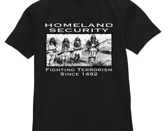 Mens T-shirt / Homeland Security